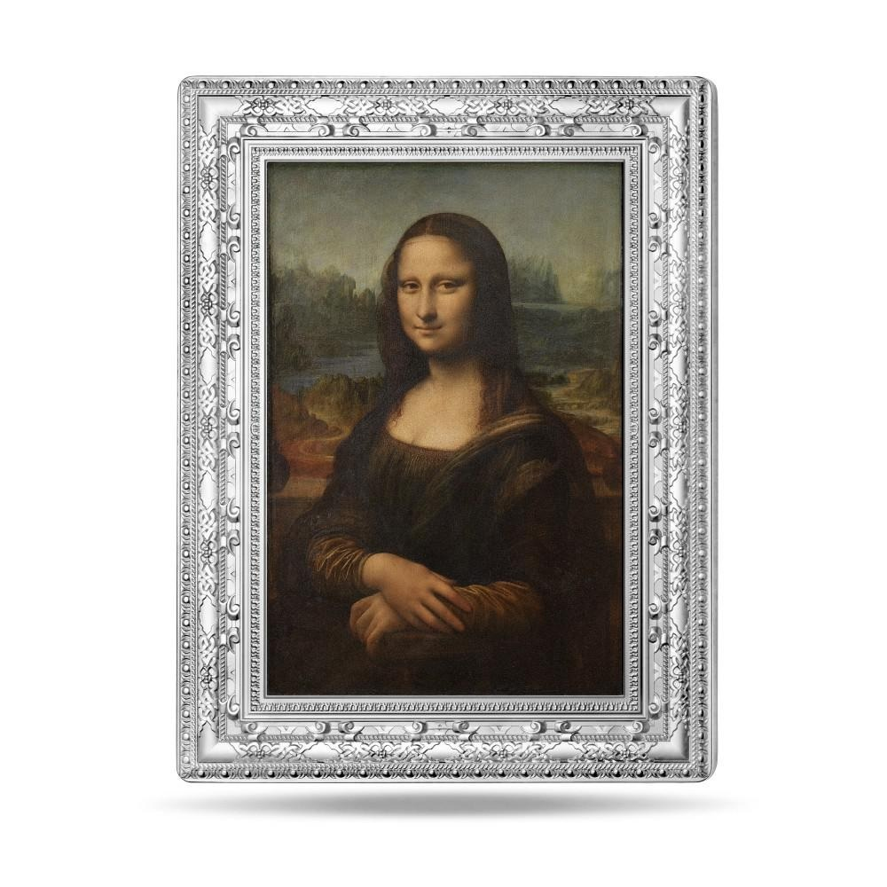 (EUR07.ComBUBE.2019.25000.BE_.10041337800000) 250 euro France 2019 Proof silver - Mona Lisa Reverse (zoom)