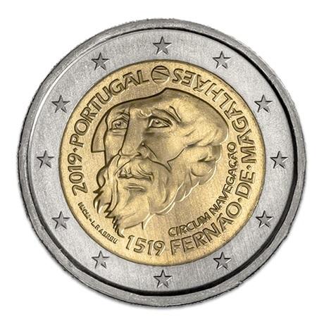 (EUR15.200.2019.12500467) 2 euro commémorative Portugal 2019 - Magellan Avers