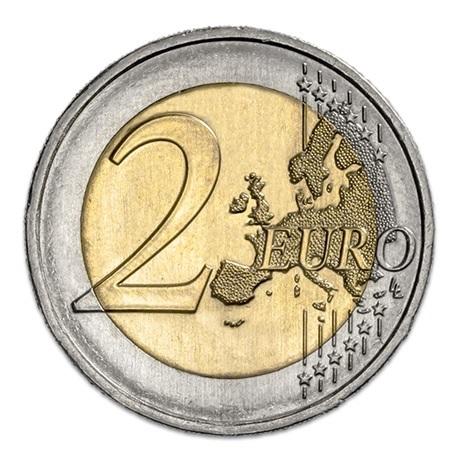 (EUR15.200.2019.12500467) 2 euro commémorative Portugal 2019 - Magellan Revers