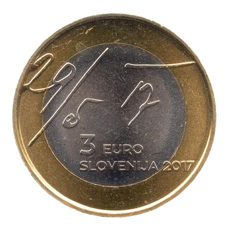 (EUR16.300.2017.COM1.000000001) 3 euro Slovénie 2017 - Déclaration de mai Avers
