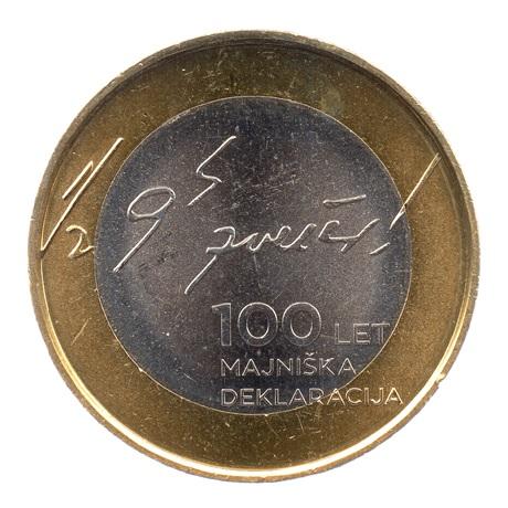 (EUR16.300.2017.COM1.000000001) 3 euro Slovénie 2017 - Déclaration de mai Revers