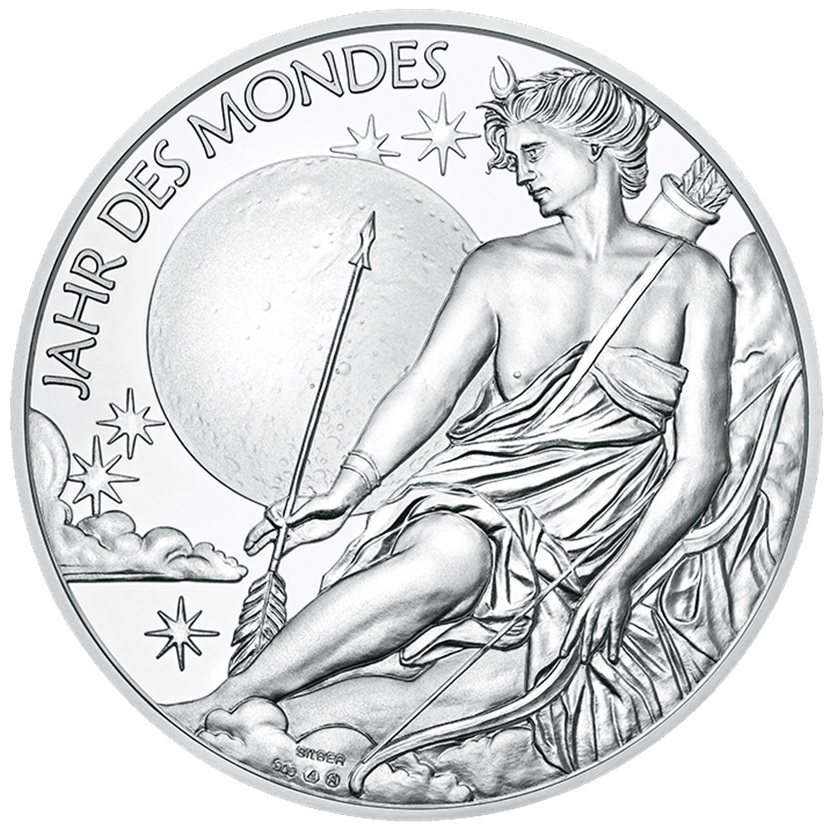 (MED01.Méd.MünzeÖ.2020.Ag.24701) Silver medal - Calendar 2020 Obverse (zoom)