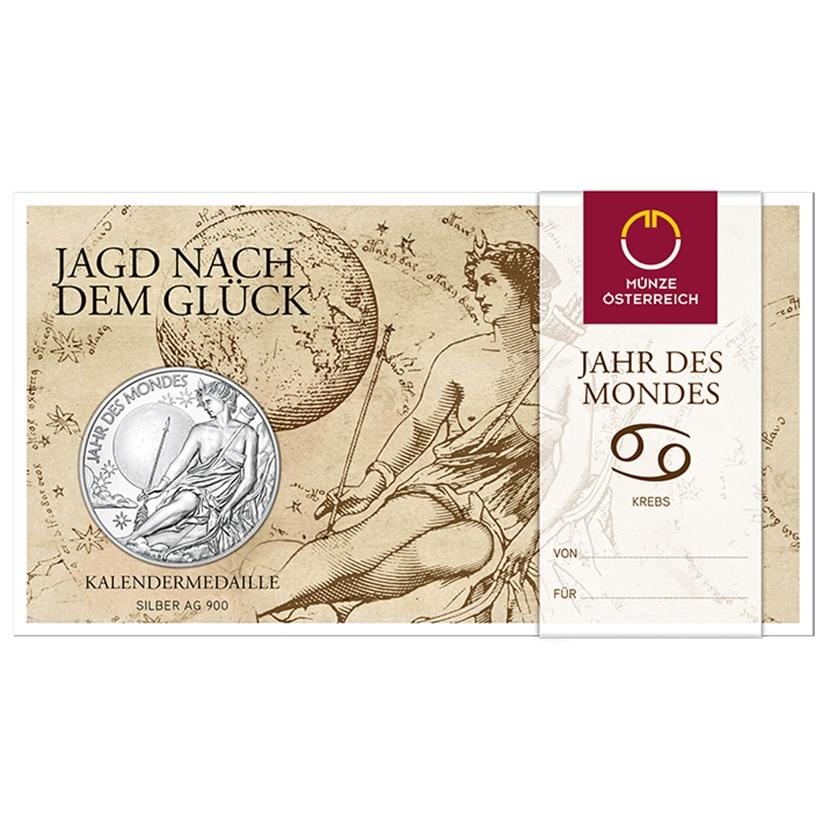 (MED01.Méd.MünzeÖ.2020.Ag.24701) Silver medal - Calendar 2020 (packaging) (zoom)