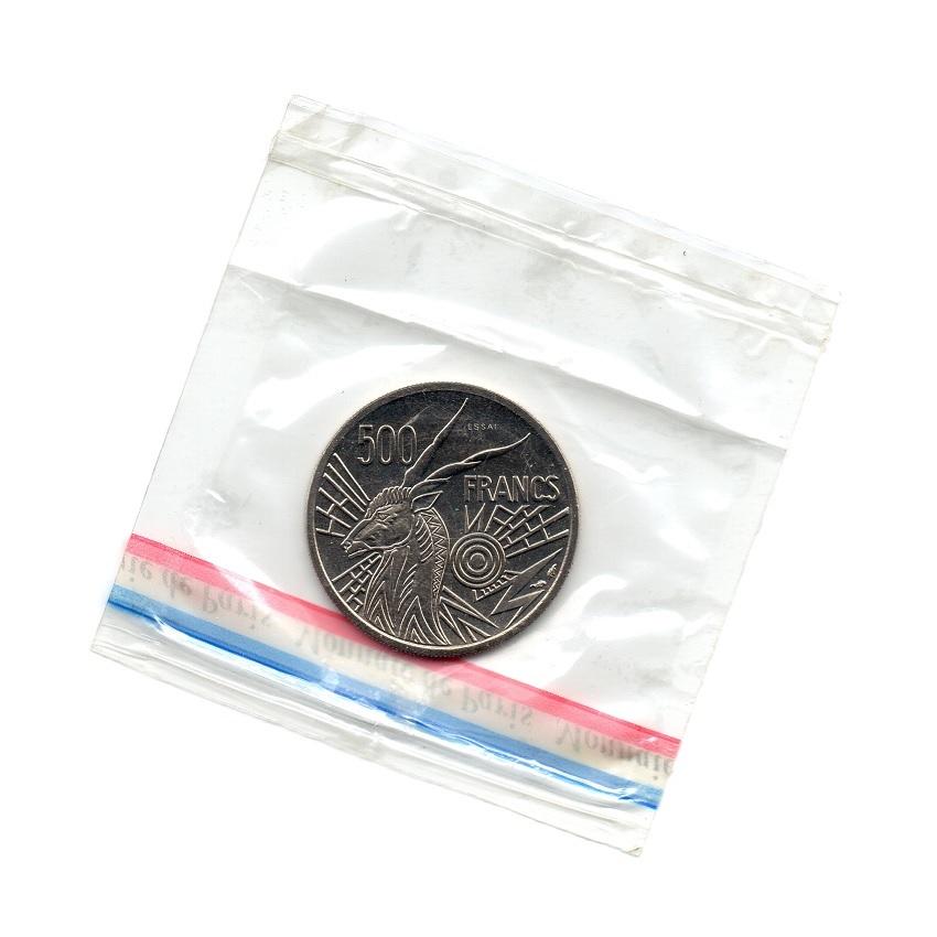 (W067.50000.1976_A.essai.000000001) Essai 500 Francs Giant eland 1976 A Back (zoom)