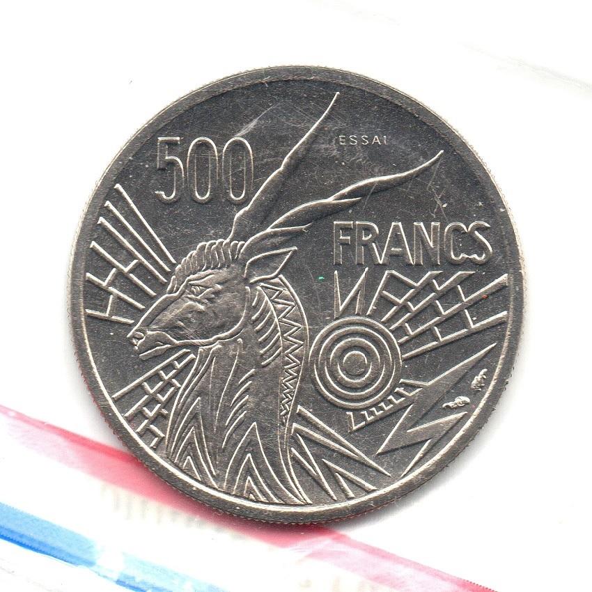 (W067.50000.1976_A.essai.000000001) Essai 500 Francs Giant eland 1976 A Reverse (zoom)