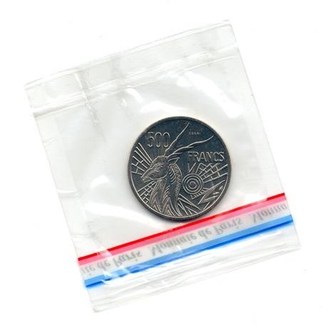 (W067.50000.1976_C.essai.000000001) Essai 500 Francs Antilope 1976 C Verso