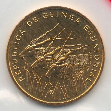 (W087.500.1985.essai.000000002) Essai 5 Francos Antilopes 1985 (recto pochette)