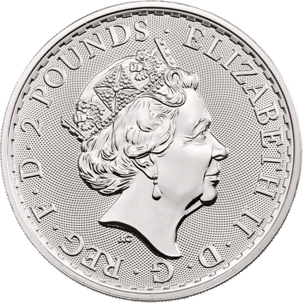 (W185.200.2020.1.ag.bullco.1) 2 Pounds United Kingdom 2020 1 oz silver - Britannia Obverse (zoom)
