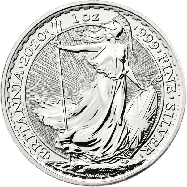 (W185.200.2020.1.ag.bullco.1) 2 Pounds United Kingdom 2020 1 oz silver - Britannia Reverse (zoom)