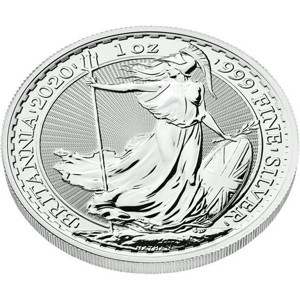 (W185.200.2020.1.ag.bullco.1) 2 Pounds United Kingdom 2020 1 oz silver - Britannia (edge) (zoom)