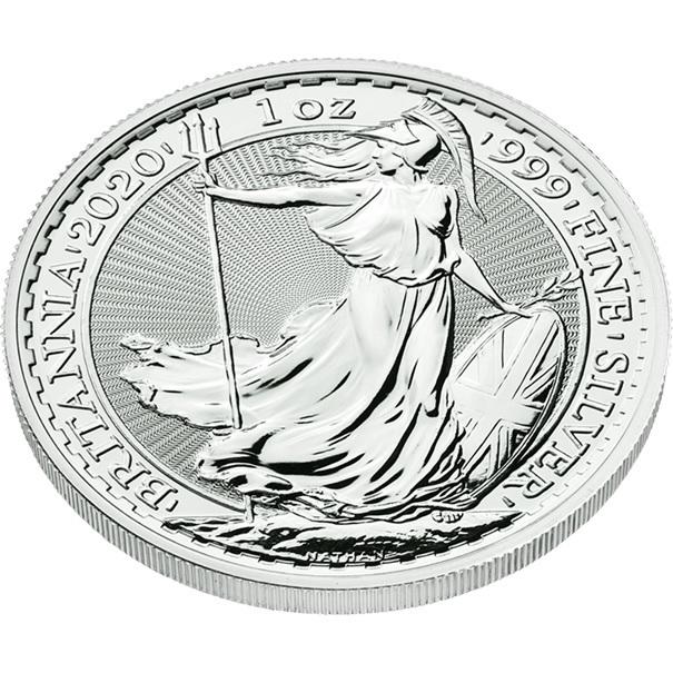 (W185.200.2020.1.ag.bullco.1) 2 Pounds United Kingdom 2020 1 oz silver - Britannia (edge) (zoom)