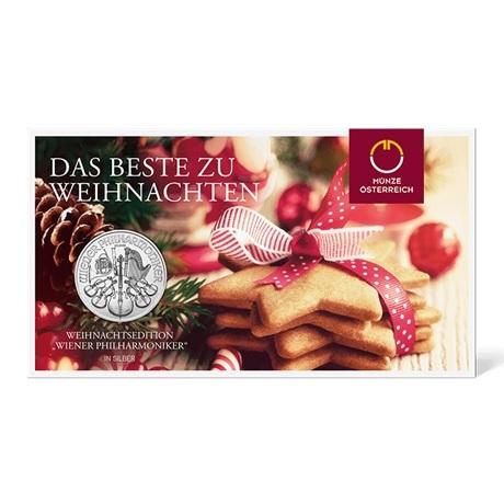 (EUR01.150.2019.1.ag.bullco.24866) 1,50 euro Autriche 2019 1 once argent - Philharmonique (blister)