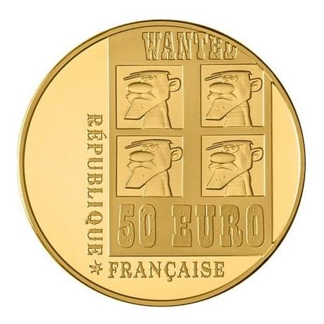 (EUR07.ComBU&BE.2009.5000.BE.COM17) 50 euro France 2009 or BE - Lucky Luke Avers