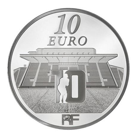 (EUR07.ComBU&BE.2012.1000.BE.COM17) 10 euro France 2012 argent BE - Rugby Club Toulonnais Revers
