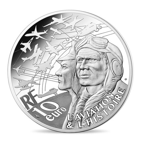 (EUR07.ComBU&BE.2019.1000.BE.10041329670000) 10 euro France 2019 argent BE - P-38 Avers