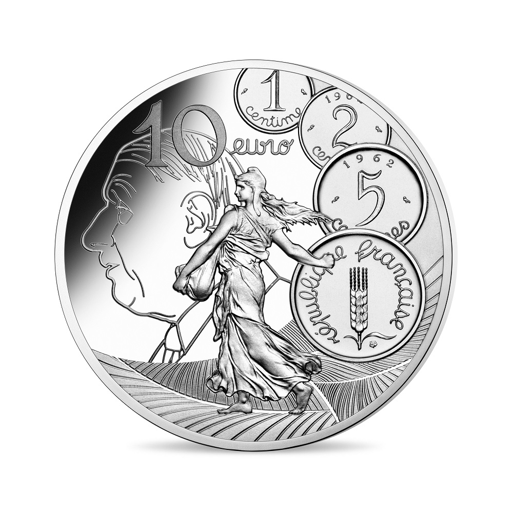 (EUR07.ComBU&BE.2020.1000.BE.10041343910000) 10 euro France 2020 Proof silver - Sower Reverse (zoom)