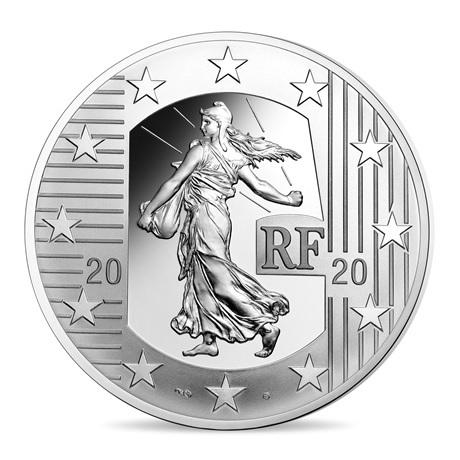 (EUR07.ComBU&BE.2020.1000.BE.10041343910000) 10 euro France 2020 argent BE - Semeuse Avers