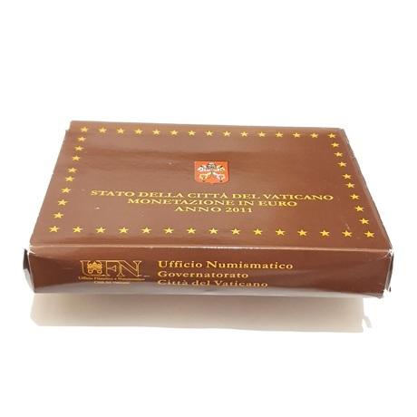 (EUR19.CofBE.2011.Cof-BE.1.000000001) Coffret BE Vatican 2011 (boîte en carton)