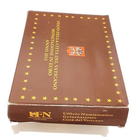 (EUR19.CofBE.2011.Cof-BE.1.000000001) Coffret BE Vatican 2011 (carton)