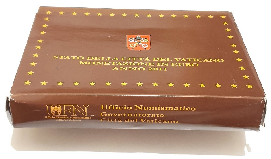 (EUR19.CofBE.2011.Cof-BE.1.000000001) Proof coin set Vatican State 2011 (carton box) (zoom)