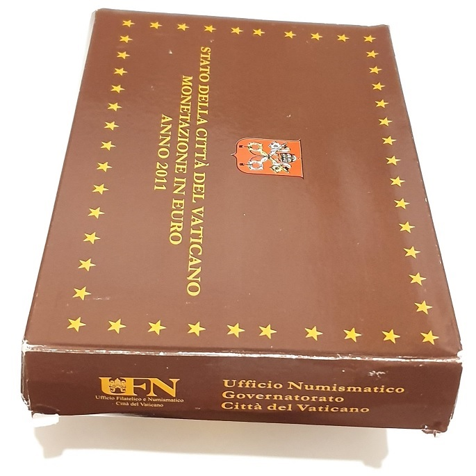 (EUR19.CofBE.2011.Cof-BE.1.000000001) Proof coin set Vatican State 2011 (carton) (zoom)
