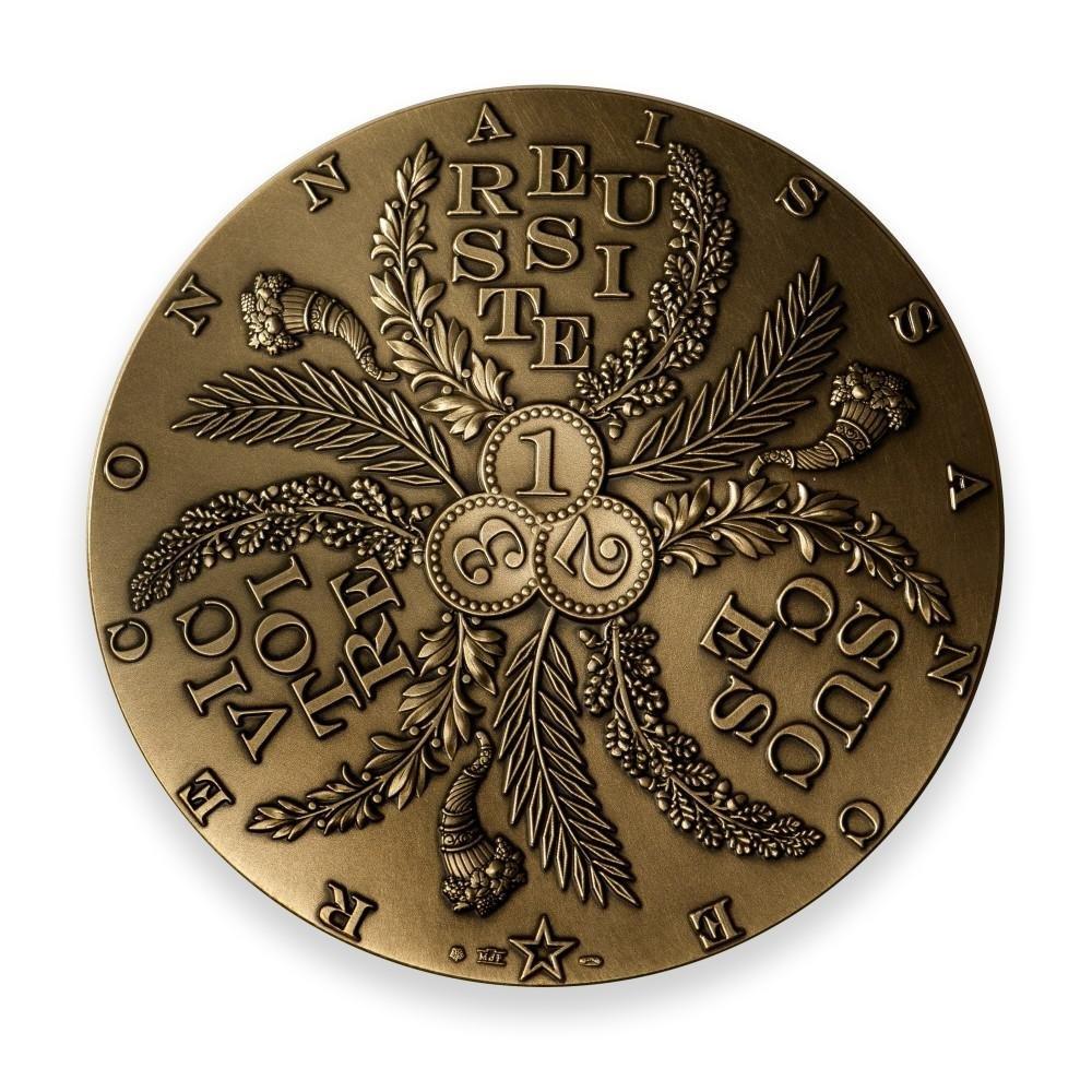 (FMED.Méd.MdP.n.d._2020_.CuZn.100113351100P0) Florentine bronze medal - Success Obverse (zoom)