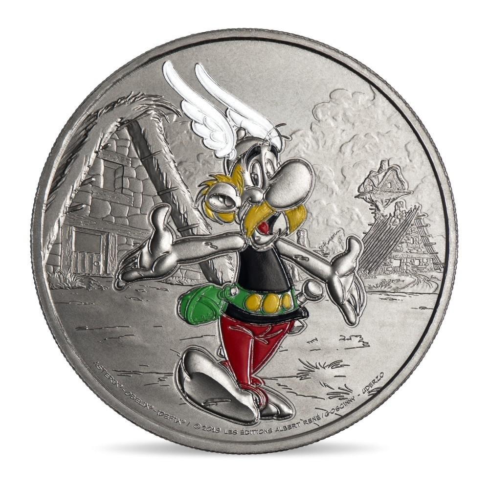 (FMED.Méd.souv.n.d._2019_.CuNi.10011334390000) Memory token - Comic hero Asterix Obverse (zoom)