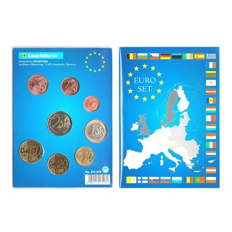 (LOT.EUR04.001to200.2019.2.spl.000000001) Série 1 cent à 2 euro Chypre 2019 Revers