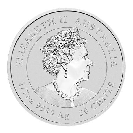 (W017.050.2020.0,5.ag.bullco.1) 50 Cents Australie 2020 0,50 once argent - Année du Rat Avers