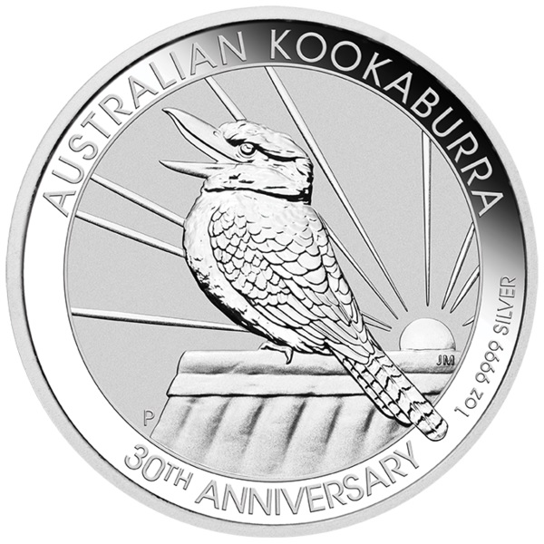(W017.100.2020.1.ag.bullco.3) 1 Dollar Australia 2020 1 oz silver - Kookaburra Reverse (zoom)