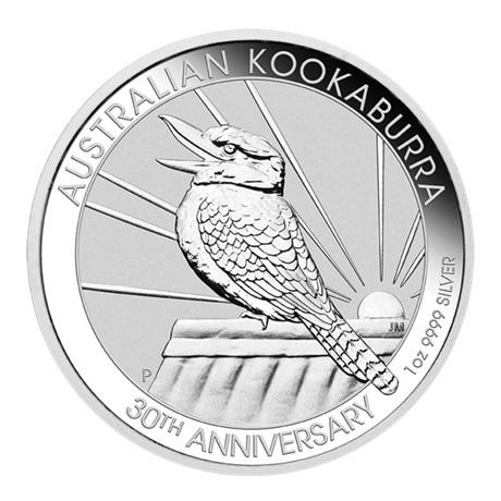 (W017.100.2020.1.ag.bullco.3) 1 Dollar Australie 2020 1 once argent - Kookaburra Revers
