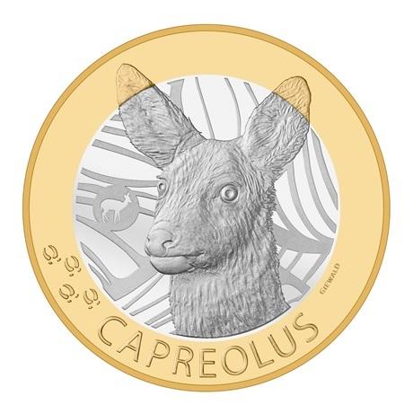 (W209.1000.2019_B.510000430) 10 Francs Chevreuil 2019 B Revers