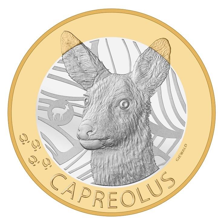 (W209.1000.2019_B.510000430) 10 Francs Red deer 2019 Reverse (zoom)