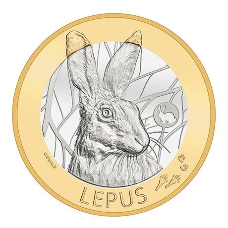 (W209.1000.2020_B.510000490) 10 Francs Lièvre 2020 B Revers