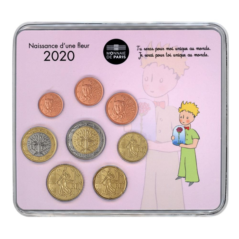 (EUR07.CofBU&FDC.2020.M-S.10041345020000) BU mini-set France 2020 - Baby birth (girl version) Front (zoom)