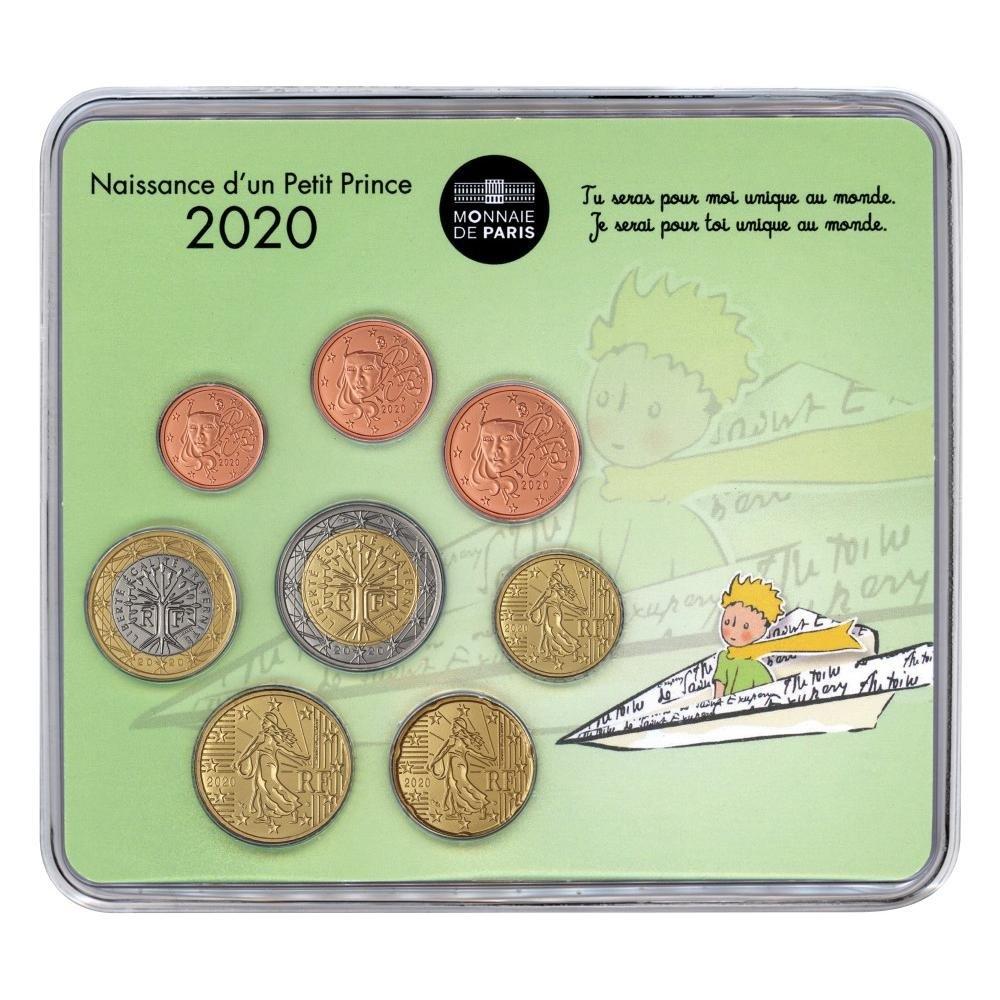 (EUR07.CofBU&FDC.2020.M-S.10041345030000) BU mini-set France 2020 - Baby birth (boy version) Front (zoom)