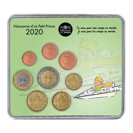 (EUR07.CofBU&FDC.2020.M-S.10041345030000) Mini-set BU France 2020 - Naissance garçon Recto