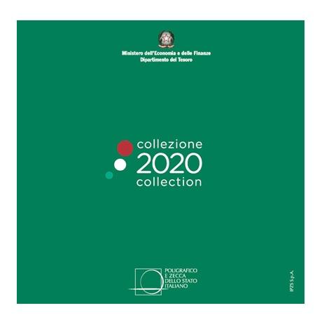 (EUR10.CofBU&FDC.2020.Cof-BU) Coffret BU Italie 2020 Recto