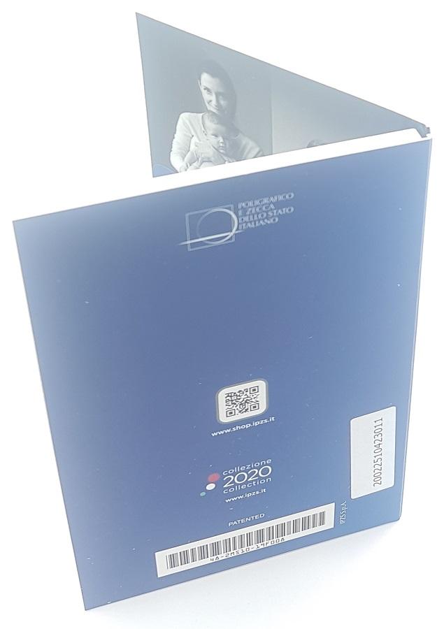 (EUR10.ComBU&BE.2020.48-2MS10-20F012) 5 euro Italie 2020 BU silver - Telethon Back (zoom)