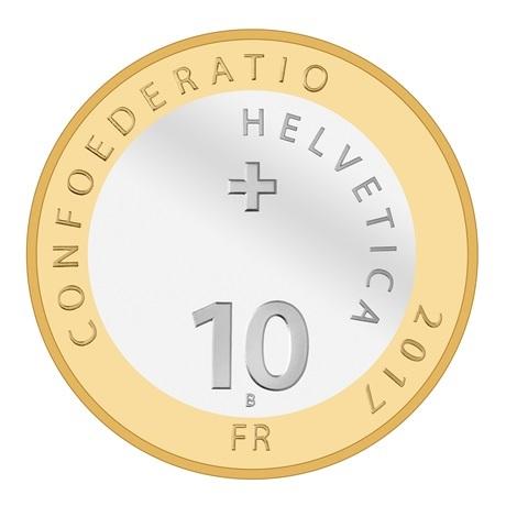 (W209.1000.2017_B.510000280) 10 Francs Gentiane 2017 B Avers