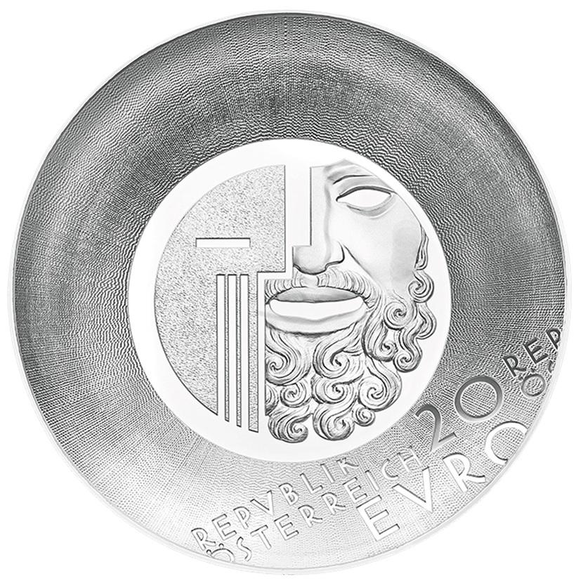 (EUR01.ComBU&BE.2020.2000.BE.24598) 20 euro Austria 2020 Proof silver - Salzburg Festival Obverse (zoom)