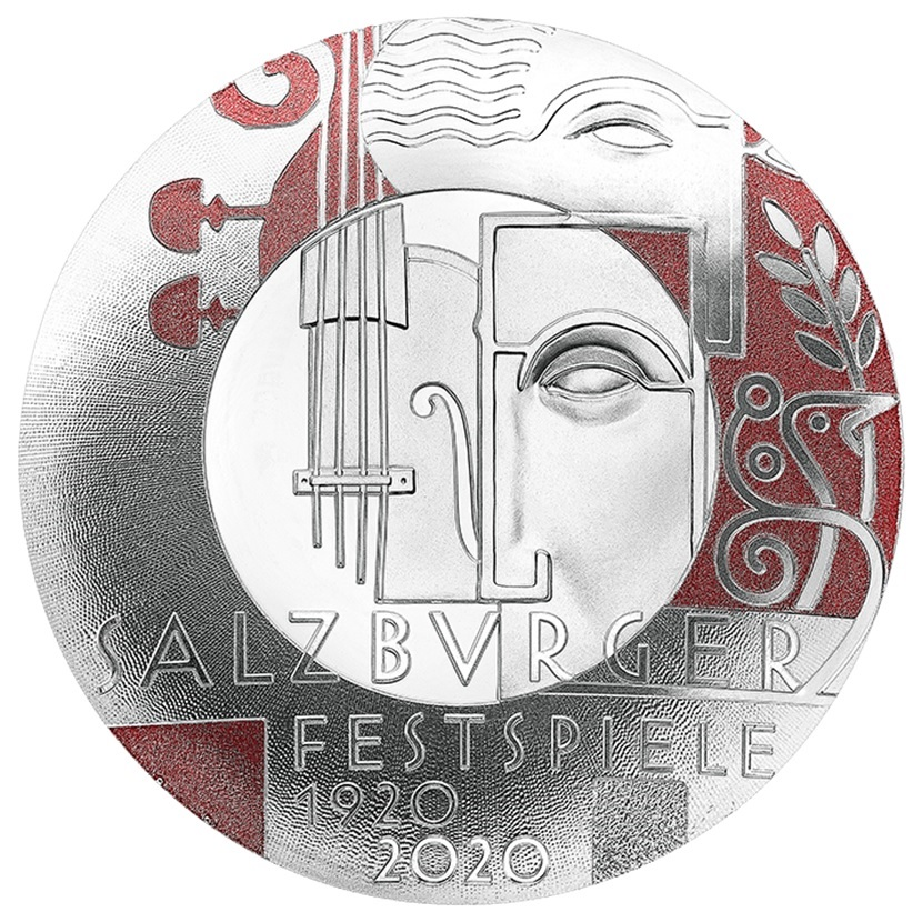 (EUR01.ComBU&BE.2020.2000.BE.24598) 20 euro Austria 2020 Proof silver - Salzburg Festival Reverse (zoom)