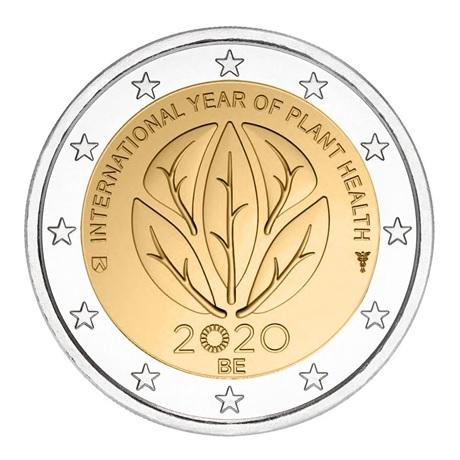(EUR02.200.2020.COM1) 2 euro commémorative Belgique 2020 - Santé des plantes