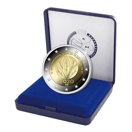 (EUR02.ComBU&BE.2020.200.BE.COM1) 2 euro commémorative Belgique 2020 BE - Santé des plantes