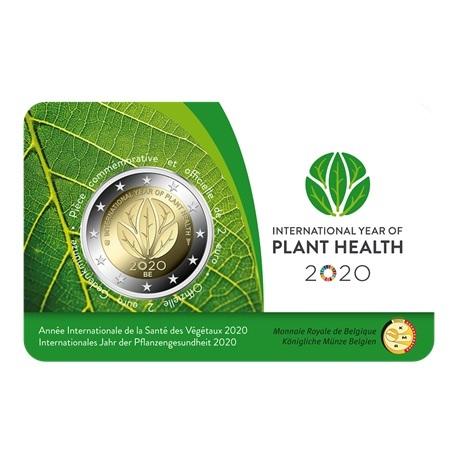 (EUR02.ComBU&BE.2020.200.BU.COM1) 2 euro Belgique 2020 BU - Santé des plantes (légende française) Recto