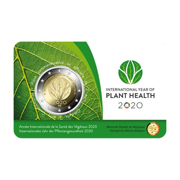 (EUR02.ComBU&BE.2020.200.BU.COM1) 2 euro Belgium 2020 BU - International Year of plant health Front (zoom)