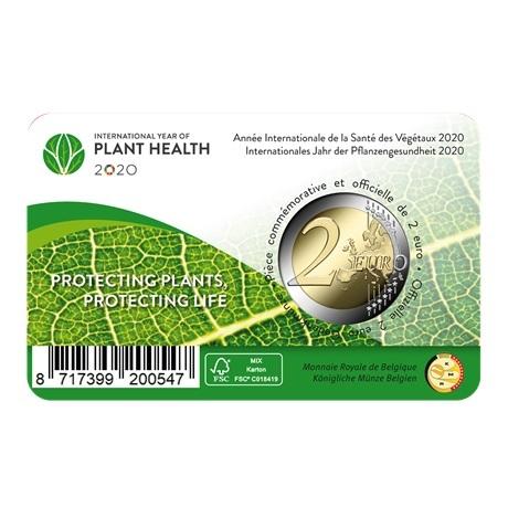 (EUR02.ComBU&BE.2020.200.BU.COM1.1) 2 euro Belgique 2020 BU - Santé des plantes (légende flamande) Verso