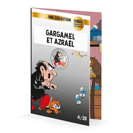 (EUR07.1000.2020.10041345520005) 10 euro France 2020 argent - Gargamel et Azraël (cartelette)