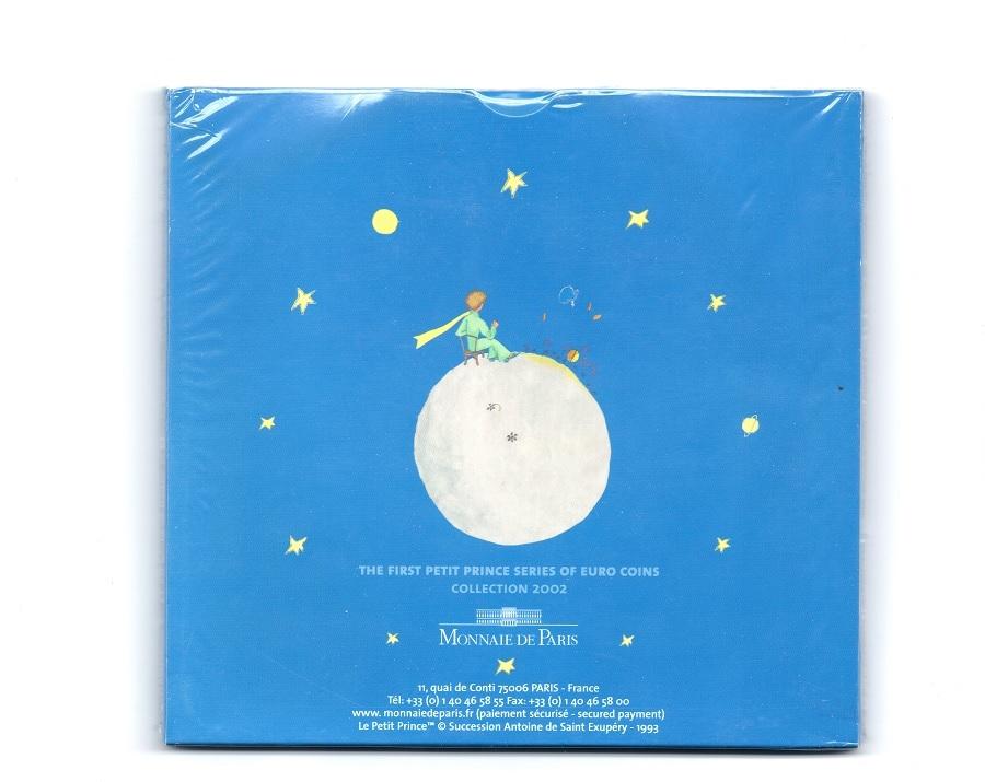 (EUR07.CofBU&FDC.2002.Cof-BU.1.000000001) BU coin set France 2002 - The Little Prince Back (zoom)