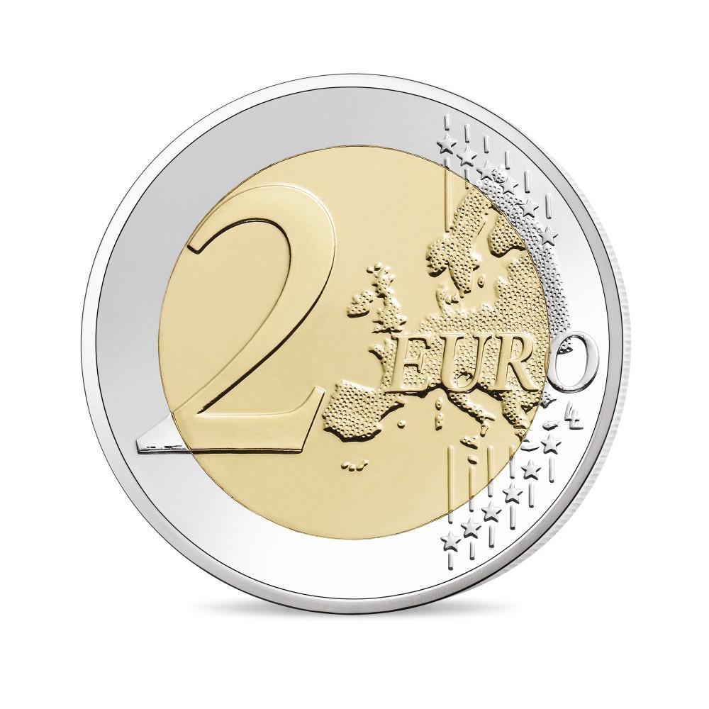(EUR07.ComBU&BE.2020.200.BU.10041345070000) 2 euro France 2020 BU - General de Gaulle Reverse (zoom)